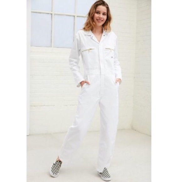 db07cbd29f7 Dickies x Urban Outfitters white Jumpsuit